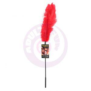 Ostrich Tickler - Red