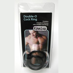Double-O Cock Ring Rubber