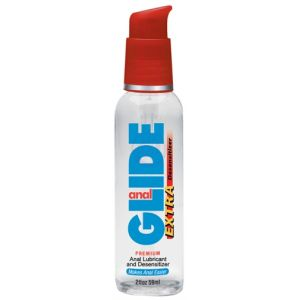 Anal Glide Extra 2 Oz Pump Bottle