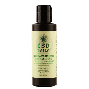 Hemp Daily Massage Oil 100mg 4oz / 118ml