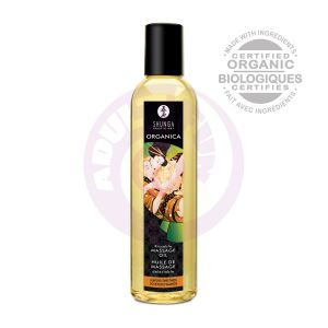 Kissable Massage Oil - Organica - Almond Sweetness - 8.4 Fl. Oz.