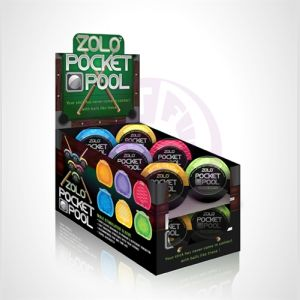 Pocket Pool - 12 Pieces Display
