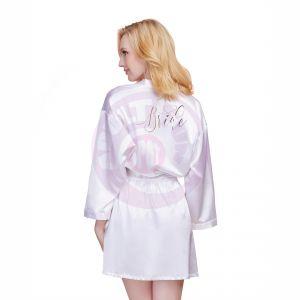Bride Robe - Small - White