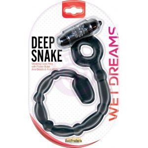 Wet Dreams Deep Snake - Black