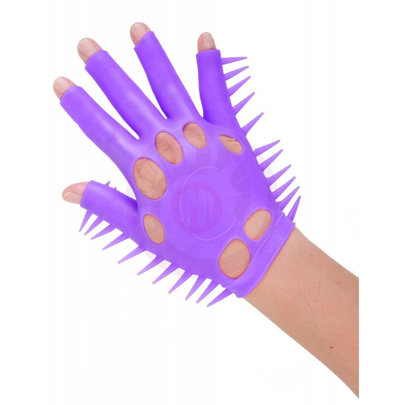 Neon Luv Glove - Purple