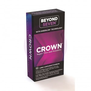Crown 12 Pack  Latex Condoms