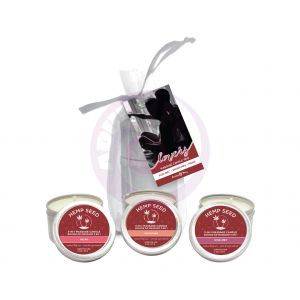 Heart Candle Trio - 3-in-1 - 2 Oz. Candles