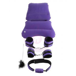 Ff Purple Pleasure Bondage Set