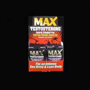 Max Testosterone 2 Pack 24ct Display