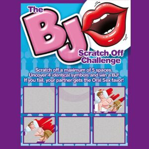 Bj Scratch Off Challenge