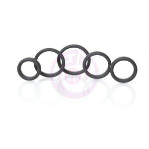 Boneyard Silicone Ring 5 Pc Kit - Black