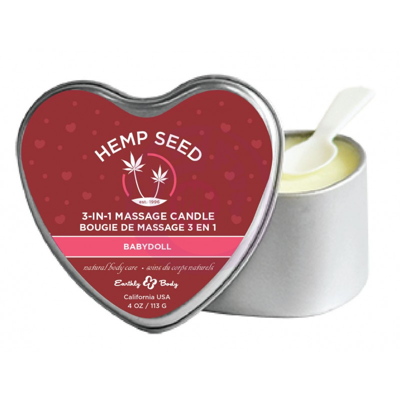 3 in 1 Massage Candle - Babydoll 4 Oz