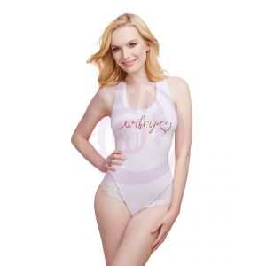 Bride Bodysuit - Large - White