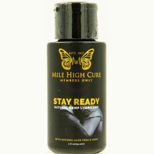 Mile High Cure Stay Ready All Natural Aloe Vera Hemp Lubricant 2 Fl Oz