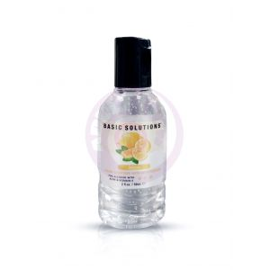 Basic Solutions Hand Sanitizer With Moisturizer - Lemon - 2 Oz./ 59ml