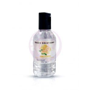Basic Solutions Hand Sanitizer With Moisturizer - Lemon - 2 Oz./ 59ml