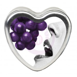 Grape Edible Heart 4.7 Oz
