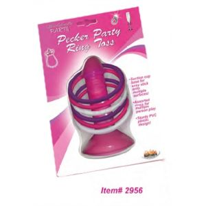 Pink Pecker Party Ring Toss