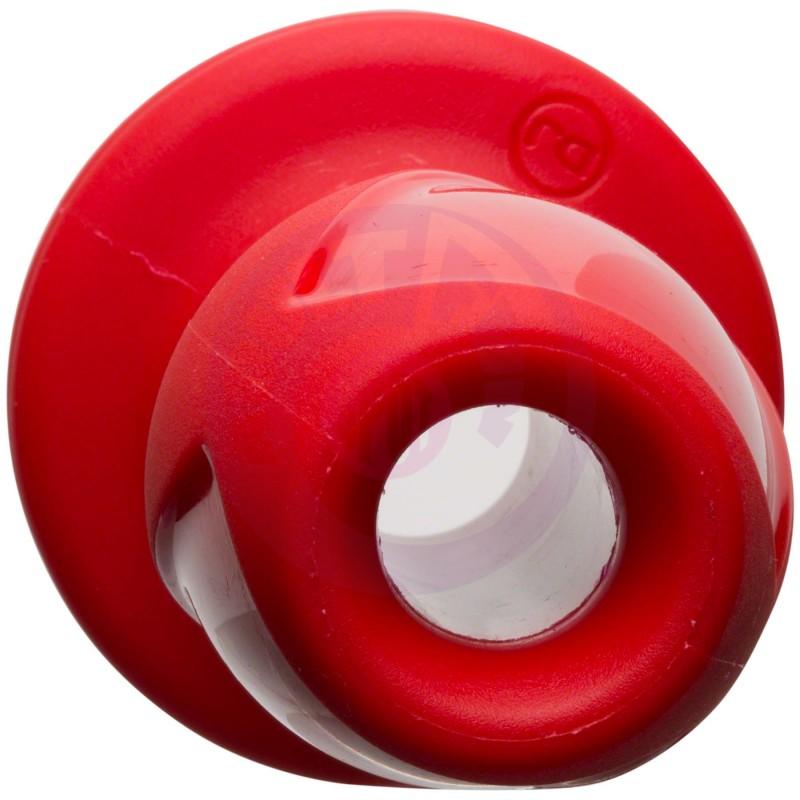 """Wet Works - Explore - Platinum Premium Silicone Plug - 3.5"""" - Red"""
