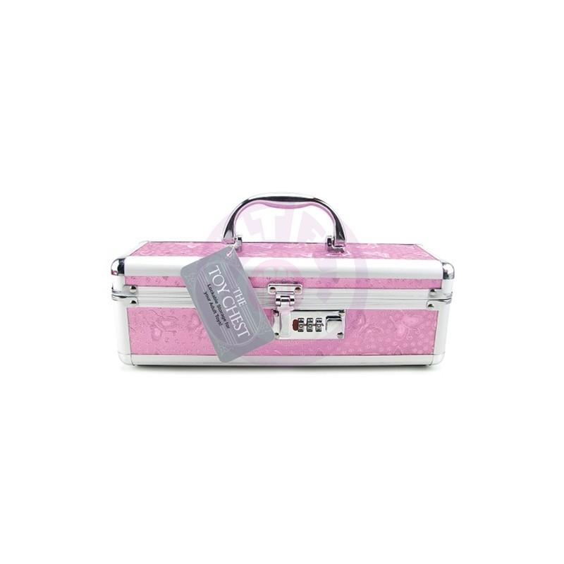 Vibrator Case Lockable - Pink
