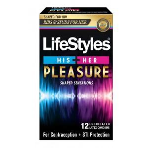 Lifestyle His + Her Pleasure 12 Pk