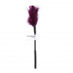Sex and Mischief Feather Tickler - Purple