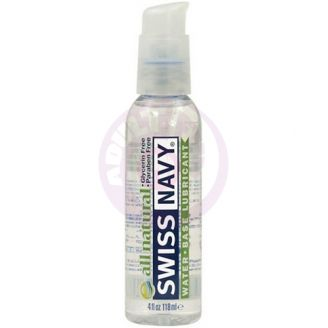 Swiss Navy All Natural - 4 Fl. Oz.