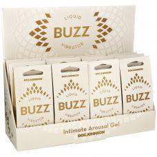 Buzz Liquid Vibrator - 12 Piece Counter Display