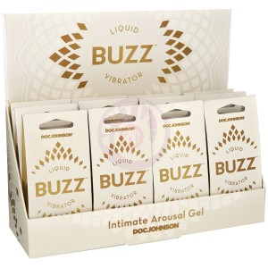 Buzz Liquid Vibrator - 12 Piece Counter Display