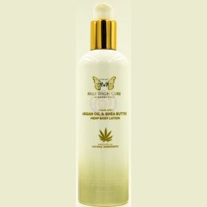 Mile High Cure Hemp Lotion With Argan Oil and Shea Butter 10 Fl Oz.
