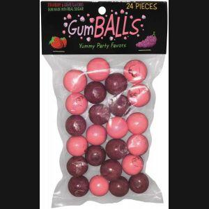Printed Gum Balls 24pcs