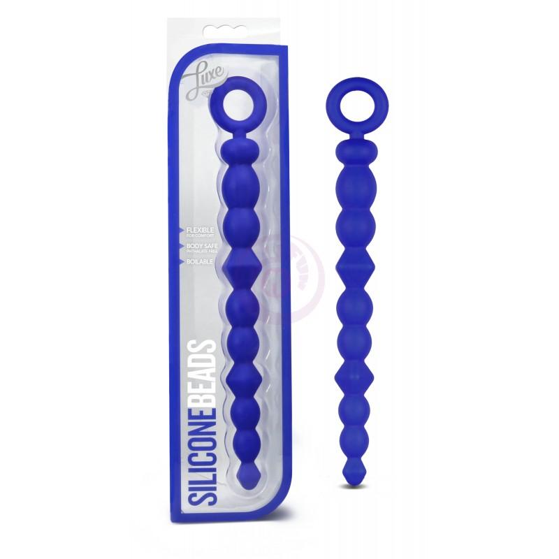 Luxe Silicone Beads - Indigo