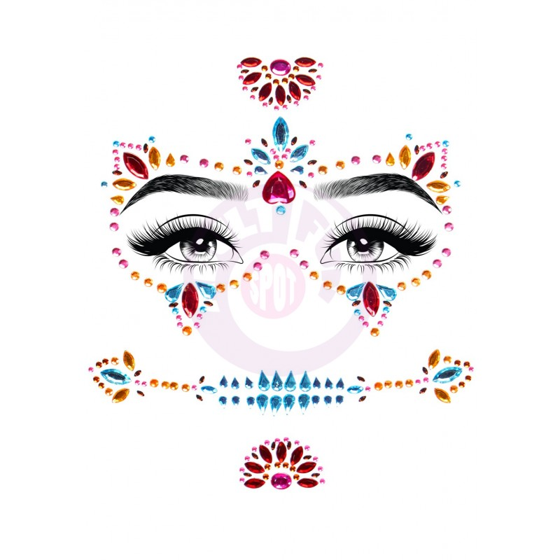 Day of the Dead Adhesive Face Jewels