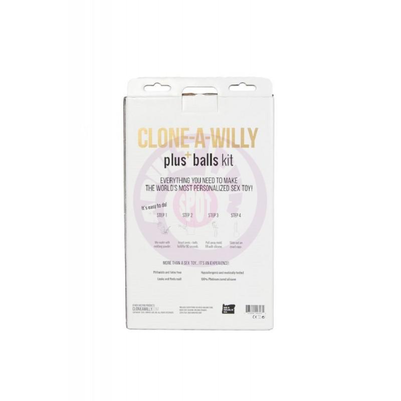 Clone-a Willy Plus Balls Kit - Light Skin Tone