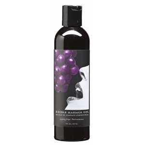 Grape Edible Massage Oil 8 Oz