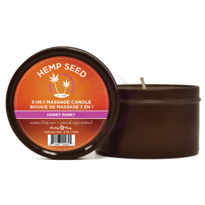 Hemp Seed 3-in-1 Massage Candle - Hanky Panky