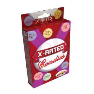 X-Rated Candies With Assorted Sayings - Each