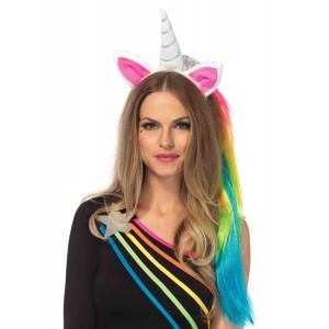 Rainbow Unicorn Headband