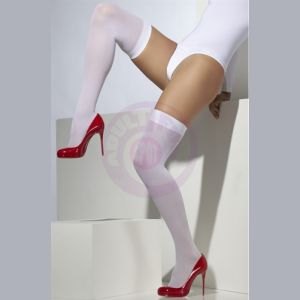 Knee High Stockings - White  Fv-25937