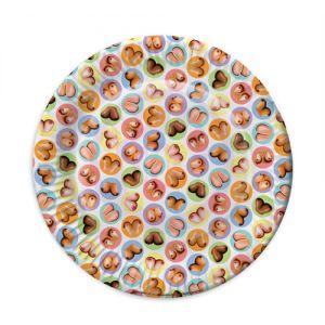 Mini Boob Plates 8 Pack