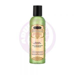 Naturals Massage Oil - Vanilla Sandalwood - 2 Fl  Oz (59 ml)