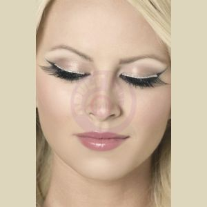 Glitter Eyelashes - Black