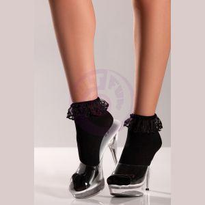 Ankle Socks - One  Size- Black