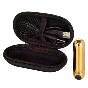 Rechargeable Hideaway Bullet - Gold