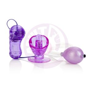 Shane's World Vibrating Turbo Suction Tongue - Purple