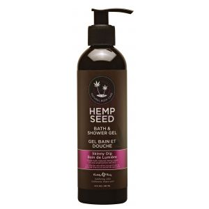 Hemp Seed Bath and Shower Gel - Skinny Dip - 8 Oz. / 237ml