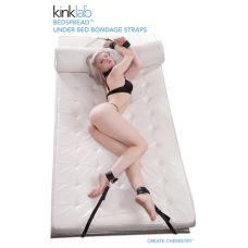 Bedspread Under Bed Bondage Straps