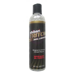 Triton Anal Lubricant Water- Based Gel - 8 Fl. Oz. / 240 ml