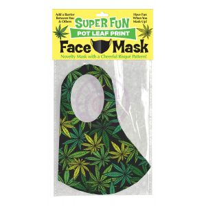 Super Fun Pot Leaf Mask