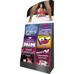 Voucher Booklets Display - 48 Units